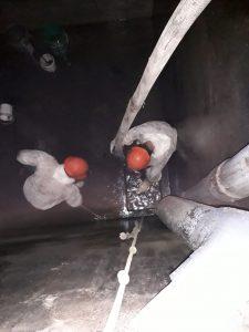 limpieza de tanques industriales